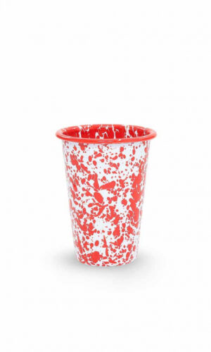 Red Splatter 14 oz Tumbler