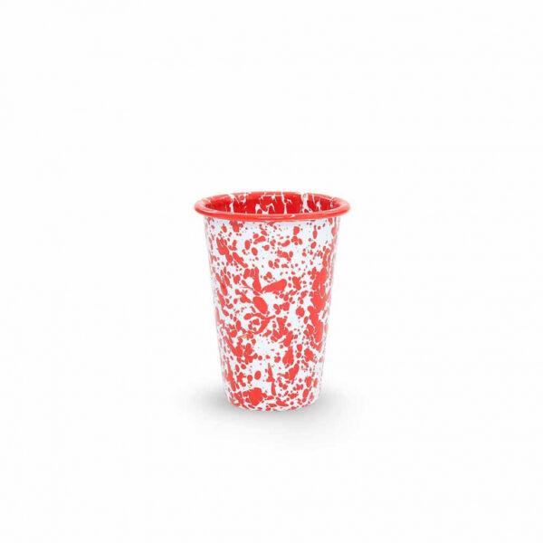 Red Splatter 14 oz Tumbler