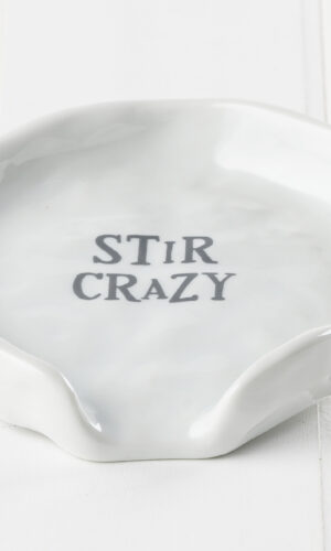 Stir Crazy Spoon Rest