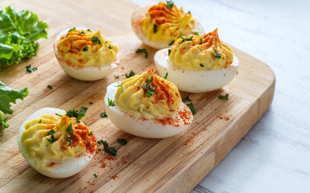 Ozark Deviled Eggs