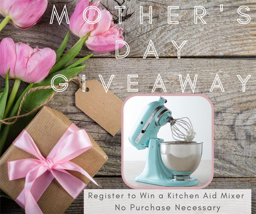 free kitchenaid mixer give away