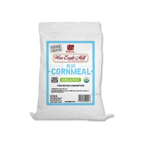 Blue Cornmeal Organic