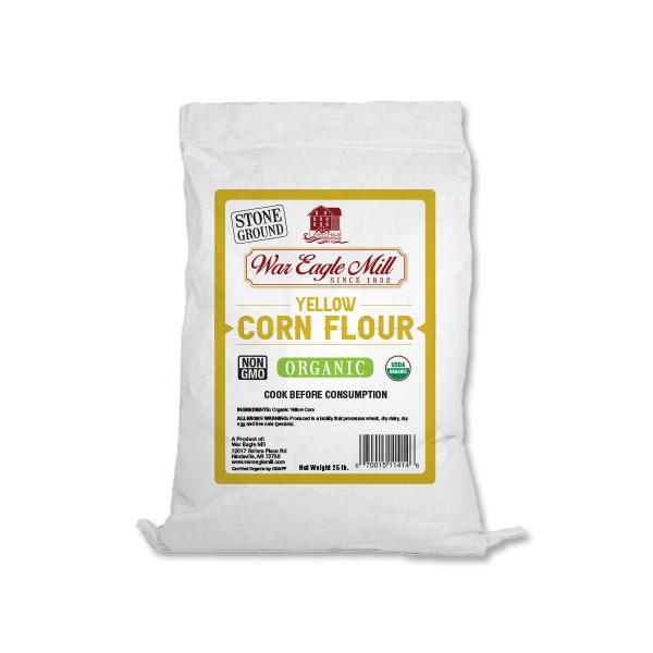 Yellow Corn Flour Organic