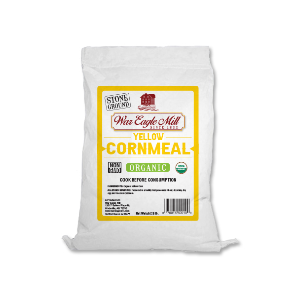 Yellow Cornmeal Organic